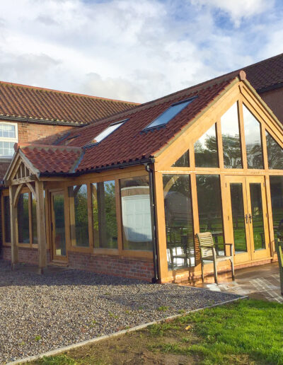 York Large Oak Extension 4